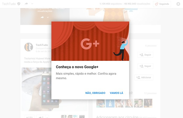 GooglePlus-Ativar
