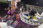 Veja como foi o 1º dia de desfiles em Santos (Reprodução/TV Tribuna)