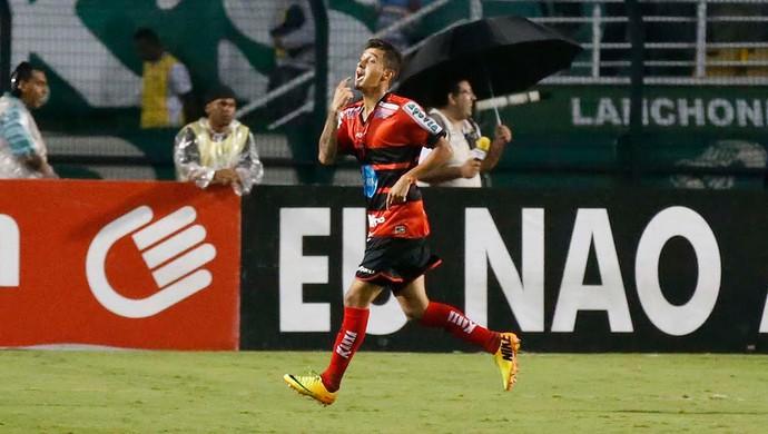 Marcelinho comemora, Palmeiras x Ituano (Foto: Marcos Ribolli)