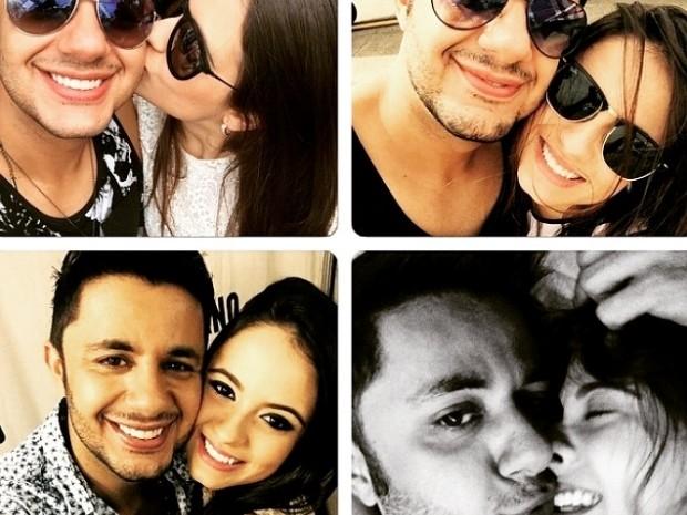 Cristiano Araújo e namorada morrem em acidente de carro na BR-153 em Morrinhos, Goiás (Foto: Arquivo Pessoal)