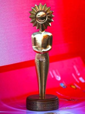 Kikto, o troféu entregue aos vencedores no Festival de Cinema de Gramado (Foto: EdisonVara/PressPhoto, Divulgação)