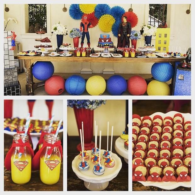 Festa do filho de Alessandra Ambrósio (Foto: Reprodução/Instagram)