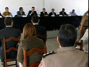 Cúpula se reuniu em Nova Serrana (Foto: Reprodução/TV Integração)