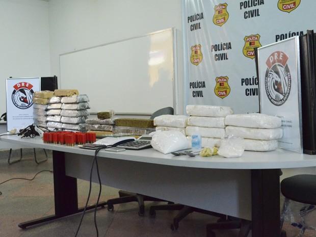 Apreensão de cocaína foi recorde na Paraíba, segundo a DRE (Foto: Jorge Machado/G1)