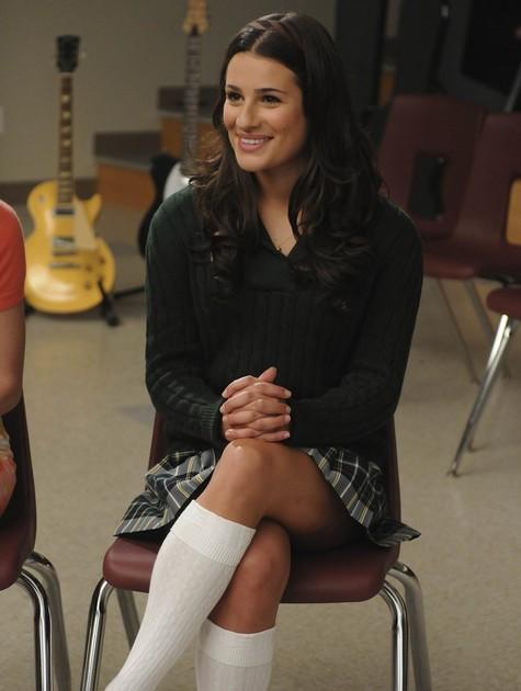 Rachel Berry (Lea Michele), de 'Glee' (Foto: Reprodução da internet)