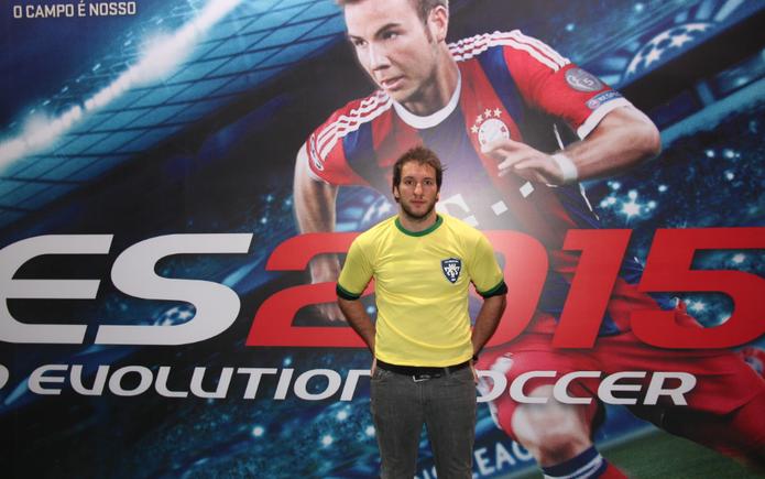 André Borzoni, gerente de Marketing da Konami no Brasil (Foto: Diego Borges / TechTudo)