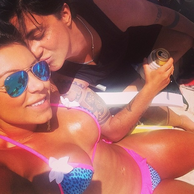 Thammy Miranda e namorada, Andressa Ferreira (Foto: Instagram / Reprodução)