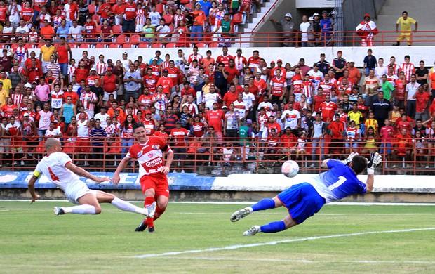 CRB x Rio Branco, no Rei Pelé (Foto: Ailton Cruz/ Gazeta de Alagoas)