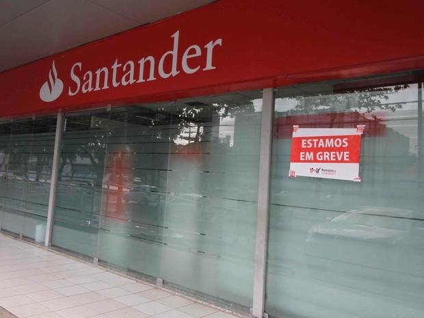 Greve dos bancários no Recife (Foto: Marlon Costa/Pernambuco Press)