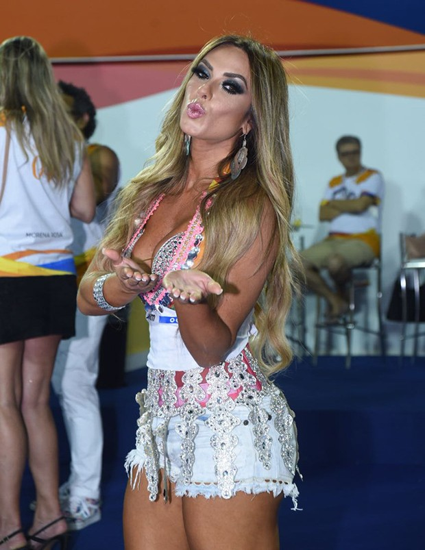 Nicole Bahls (Foto: Renato Wrobel/ Ed. Globo)