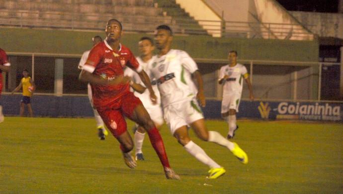 Potiguar de Mossoró vence o Alecrim por 2 a 0 no Nazarenão, em Goianinha (Foto: Marcelo Diaz/Divulgação)