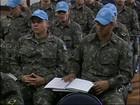 Militares da região se preparam em Itu para missão de paz no Haiti