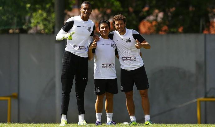 Elano Santos (Foto: Ricardo Saibun / Divulgação Santos FC)