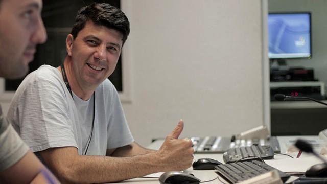 Robson Calil - Locutor da TV Tribuna (Foto: Arquivo Pessoal)