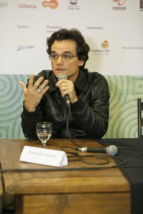 Wagner Moura no Festival de Gramado (Foto: Felipe Panfili/AgNews)
