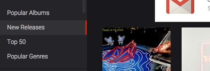 Ouça músicas sem cadastro no site (Foto: Reprodução/André Sugai)