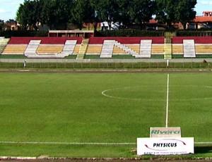 Estádio do União São João de Araras (Foto: Reprodução/ EPTV)
