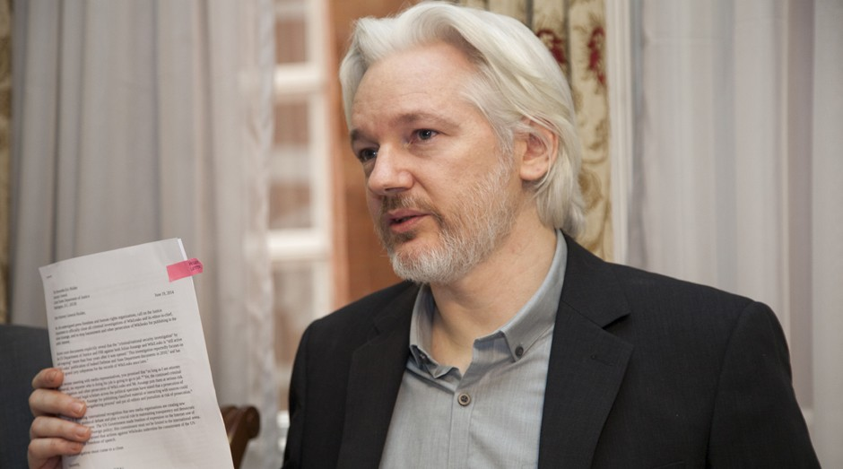 Julian Assange, fundador do site WikiLeaks (Foto: Wikimedia Commons)