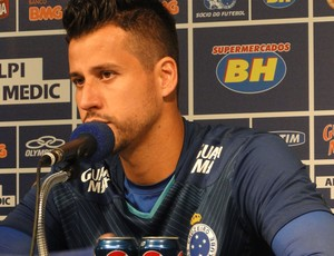 Fabio Cruzeiro coletiva (Foto: Gabriel Medeiros)