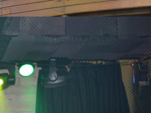 Espuma revestimento - Kiss 24 erros (Foto: IGP-RS/Reprodução)