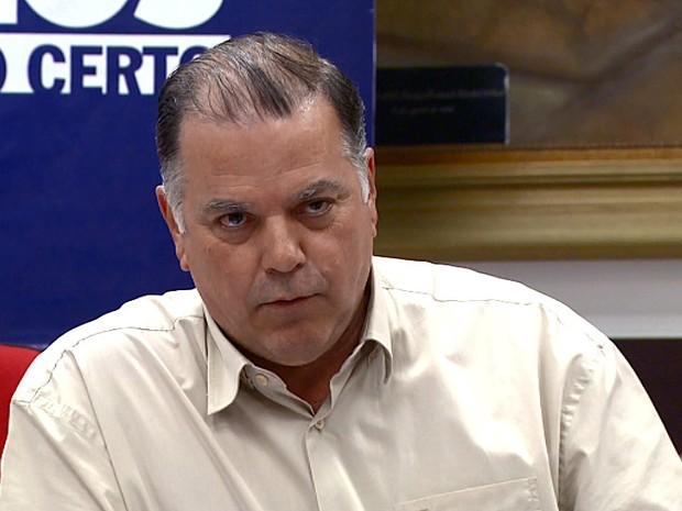 Monsignati afirmou que trocava cheques a pedido de Poianas (foto) (Foto: Reprodução/EPTV)