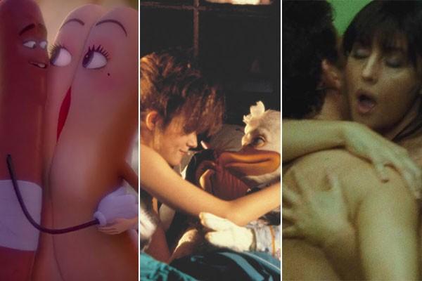 Festa da Salsicha (2016), Howard, O Pato (1986) e Mandando Bala (2007) são alguns dos filmes que já apresentaram cenas de sexo muito estranhas... (Foto: Divulgação)