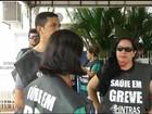 Profissionais da Saúde fazem protesto no Tocantins