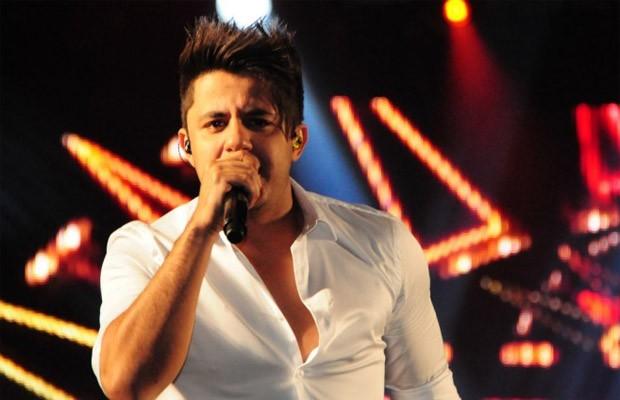Cristiano Araújo faz show, em Ponta Grossa, neste domingo (Foto: Divulgação)