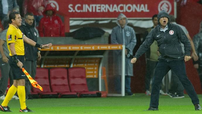 Internacional x Santa Fé Inter Diego Aguirre Inter (Foto: Alexandre Lops/Internacional)