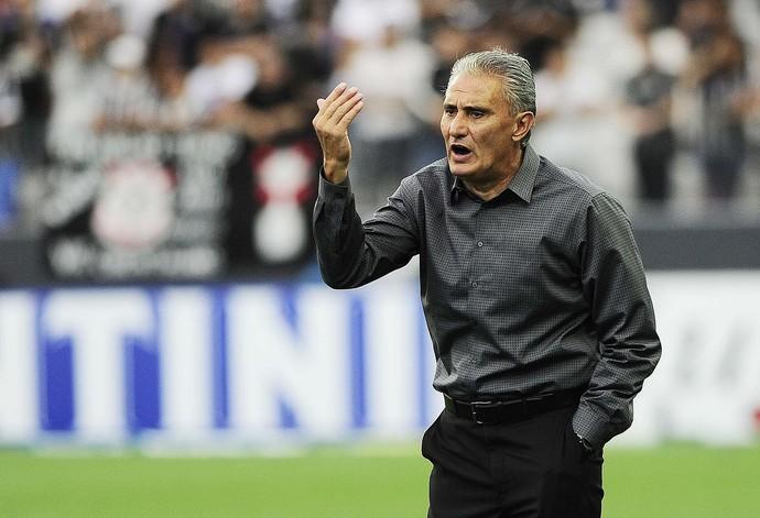 Tite, técnico do Corinthians (Foto: Marcos Ribolli)