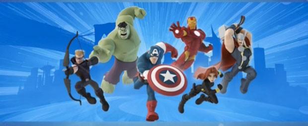 Os Vingadores da Marvel no visual de 'Disney Infinity 2' (Foto: Divulgação/Disney)