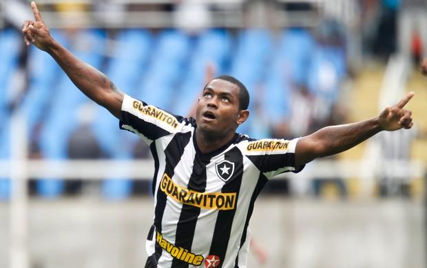 Jobson gol Botafogo (Foto: Ide Gomes / Ag. Estado)