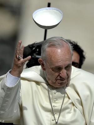 Papa admite que casais devem se separar em alguns casos (Filippo Monteforte/AFP)