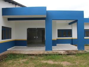Centro de Psicomotricidade não possui equipamentos mesmo após inauguração (Foto: Júnior Freitas/G1)