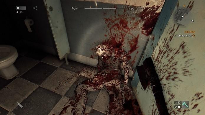 Dying Light sabe fazer o sangue jorrar na tela (Foto: Reprodução/Victor Teixeira)