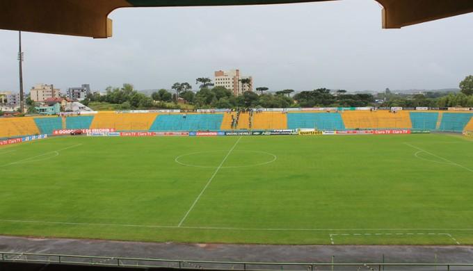 Estádio Colosso da Lagoa, em Erechim (Foto: Diego Guichard)