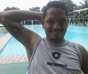 Wendel Batista, botafoguense, Acre (Foto: Wendel Batista/Arquivo Pessoal)