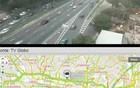 Veja câmeras nas vias de SP (Reprodução/TV Globo)