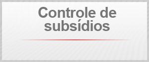 controle de subsídios (Foto: Arte/G1)