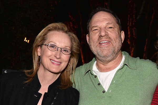 Meryl Streep e Harvey Weinstein (Foto: Getty Images)