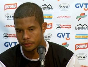 Guilherme, lateral-direito da Ponte Preta em entrevista (Foto: Reprodução EPTV)