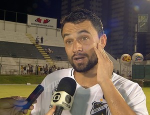 Nando - atacante do ABC (Foto: Reprodução/Inter TV Cabugi)