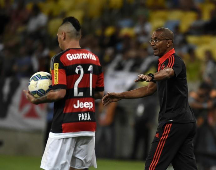 Cristóvão Flamengo - Flamengo x Vasco (Foto: André Durão / GloboEsporte.com)