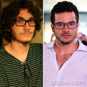 Personagem será interpretado por Thiago Mendonça na terceira fase (Foto: Carol Caminha / Pedro Curi / TV Globo)