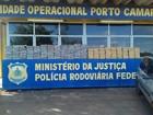 Três pessoas são presas com mais de 200 kg de maconha na rodovia BR-487