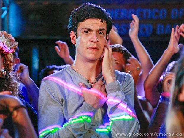 "Félix: o retrato do ""peixe fora d'água"" no baile funk (Foto: Ellen Soares / TV Globo)"