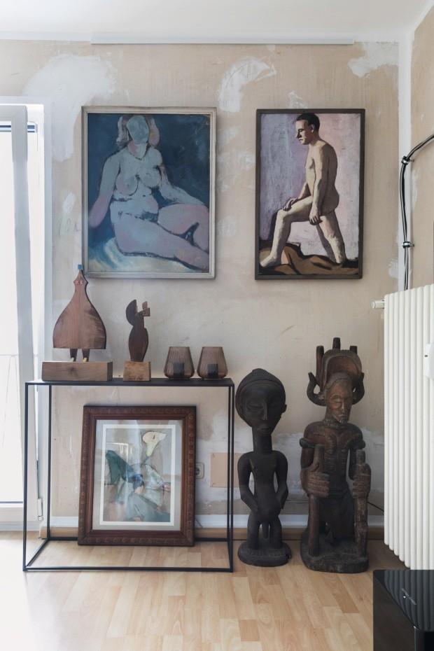 Apartamento de Tyrown Vincent, em Frankfurt (Foto: Lufe Gomes / Editora Globo)