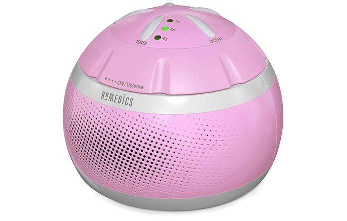 Caixa de som oferece áudios relaxantes para dormir melhor (Foto: Divulgação/Homedics)