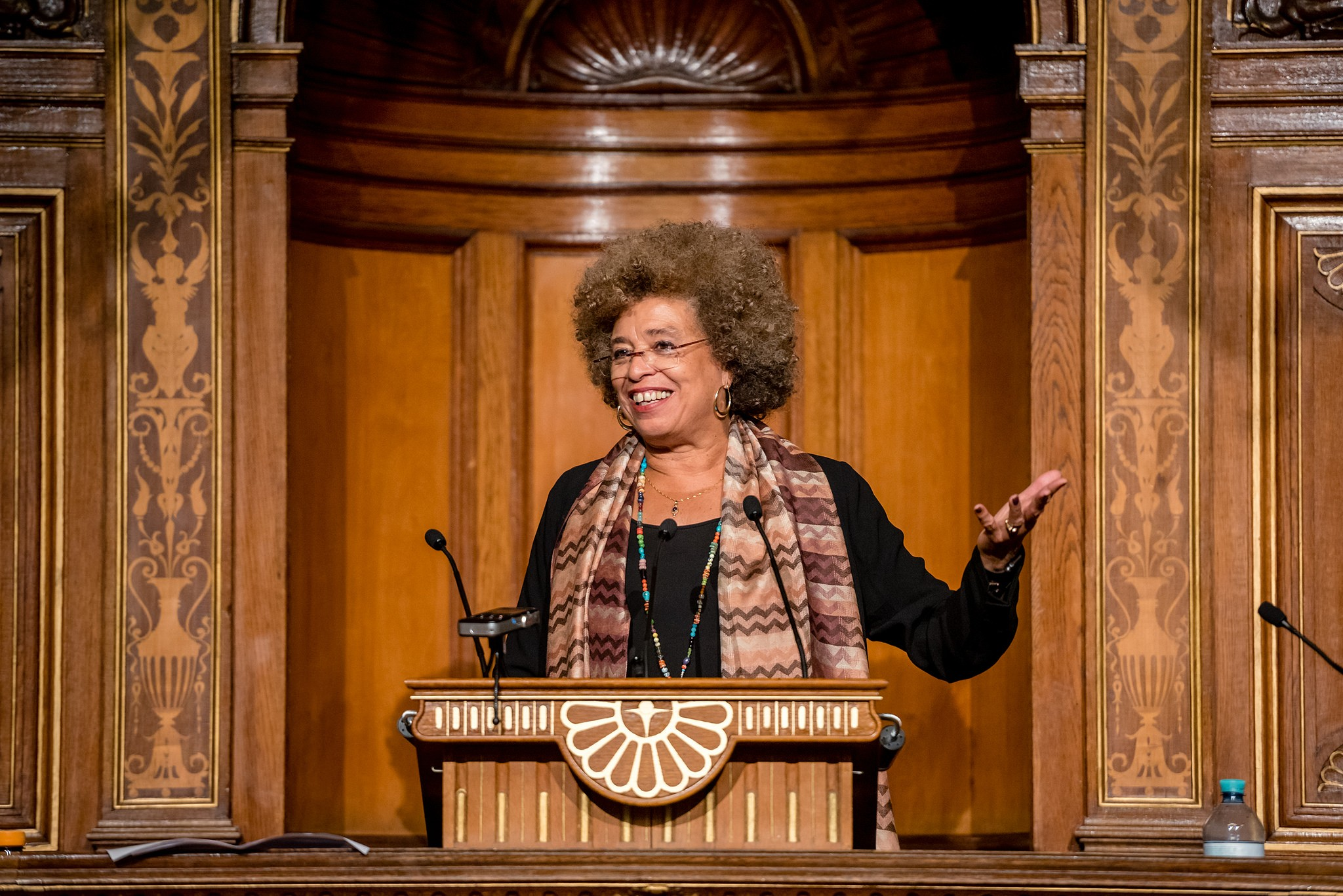 Angela Davis (Foto: Flickr/Universität Wien)