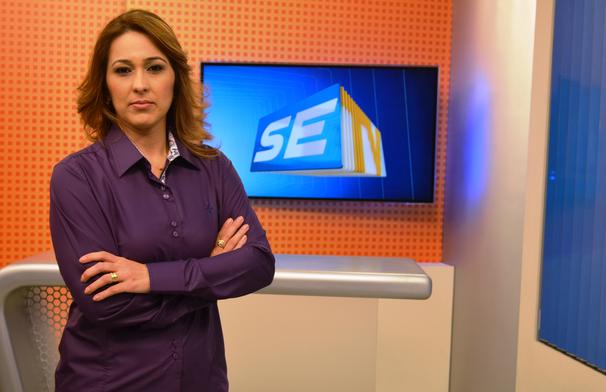 Susane Vidal apresenta o SETV 2ª Edição (Foto: Divulgação / TV Sergipe)